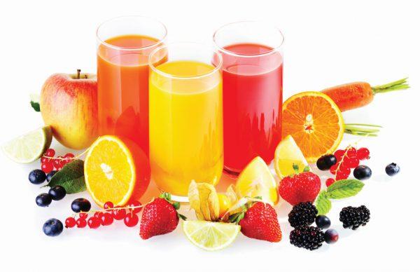 Натуральные соки готовы к употреблению