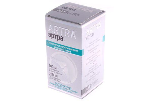 Известный препарат, восстанавливающий хрящевую ткань, «Артра»